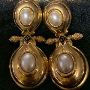 Fendi earrings.